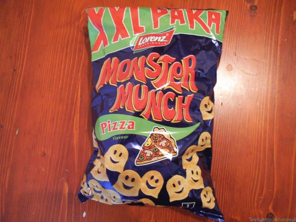monster munch o smaku pizzy