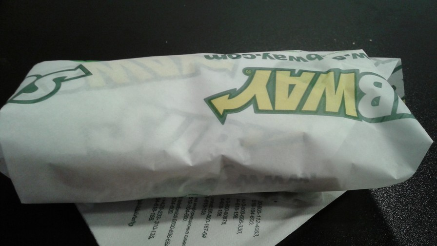Subway BLT
