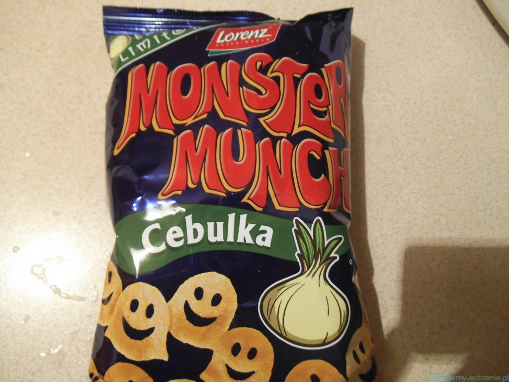 Monster Munch Cebulka Opinie