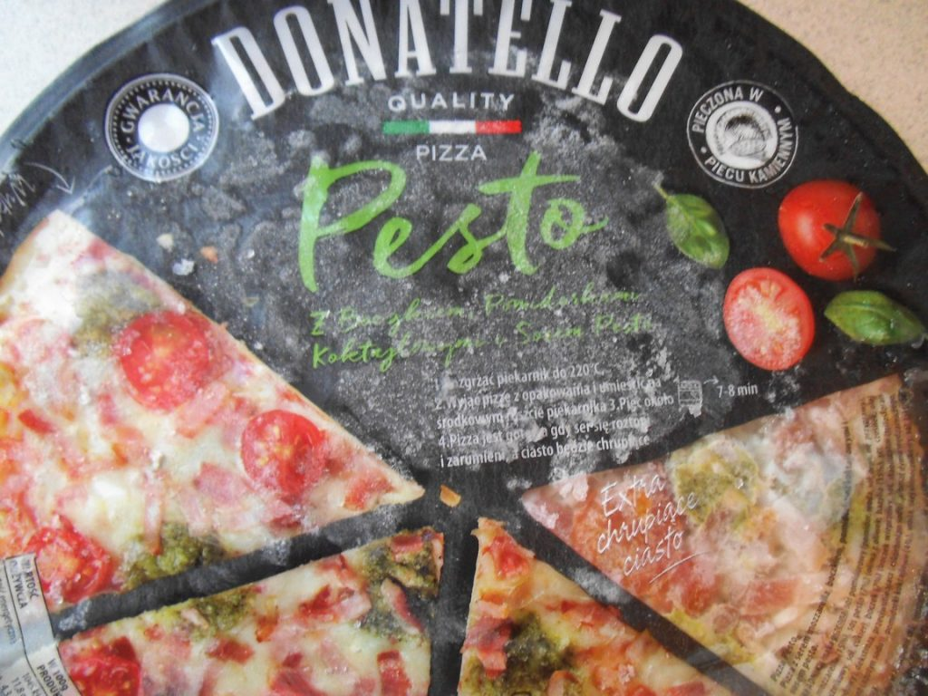 pizza pesto donatello