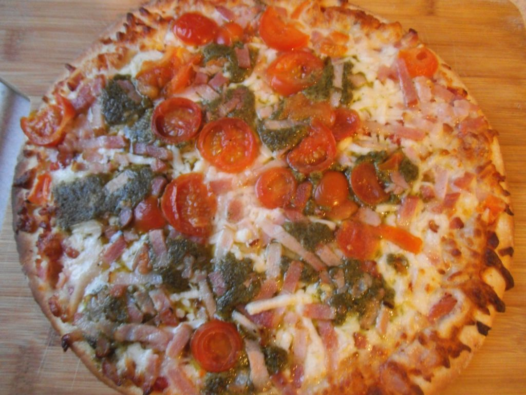 test pizzy pesto z biedronki