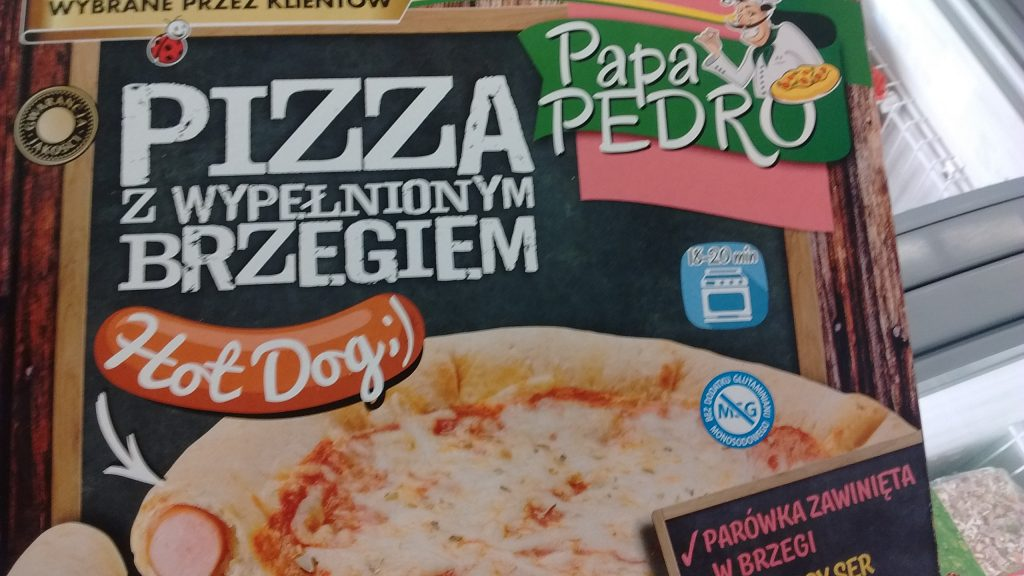 biedronka pizza hot dog