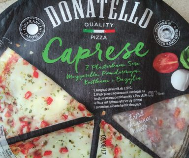 pizza caprese donatello