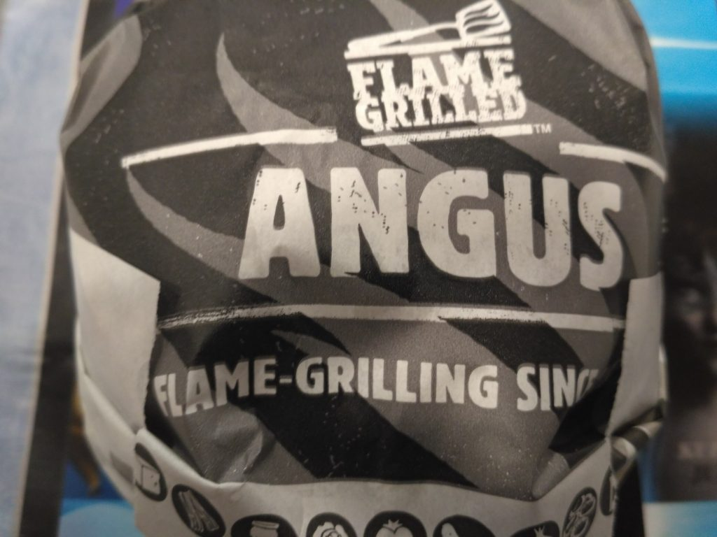 Texas BBQ Angus z Burger King
