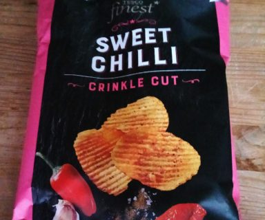 Chipsy Tesco Finest Sweet Chilli test
