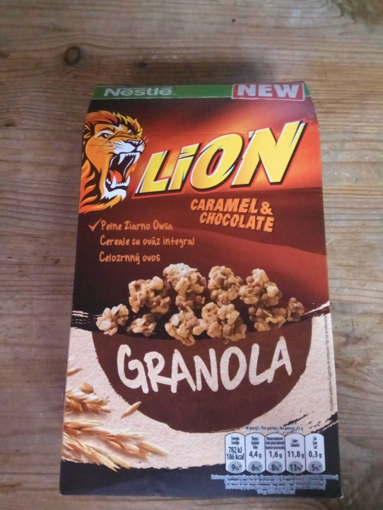 test granoli lion