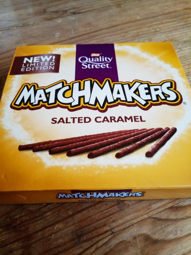 nestle match makers salty caramel