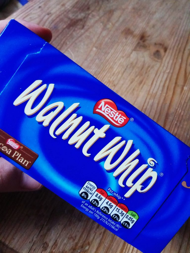nestle walnut whip pianki