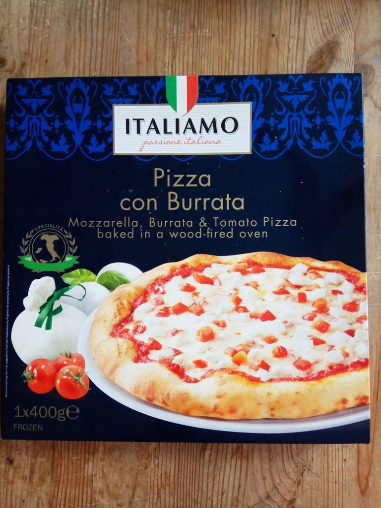 pizza con burrata lidl