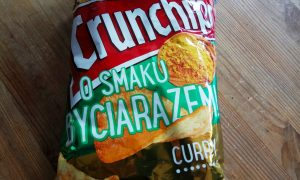 test crunchips curry