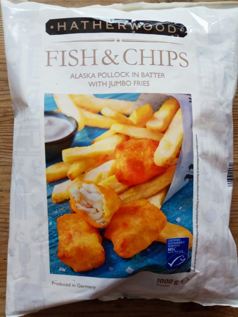 lidl fish and chips