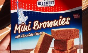 lidl mini brownies
