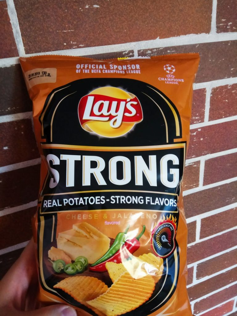 lays strong cheese jalapeno diabelski cheddar