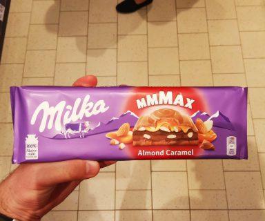 Almond Caramel Milka